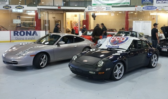 PCA Porsches at 2014 Targa NL Car Show