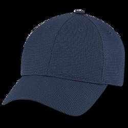Silver Nano cap in navy