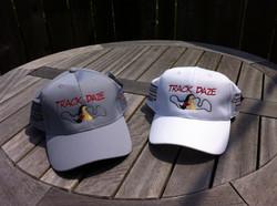 Track Daze Silver Nano cap, shown  in grey and white
