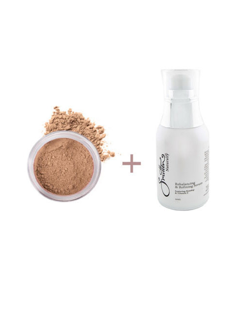 Mineral Foundation + Refining Serum