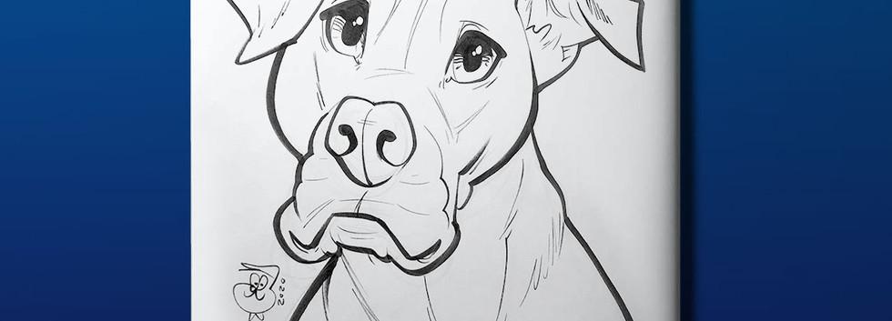 Back Cover, Custom Caricature