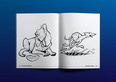 Inside 2-page spread