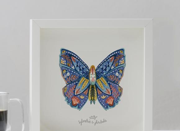 Papillon solo - Nuit étoilée