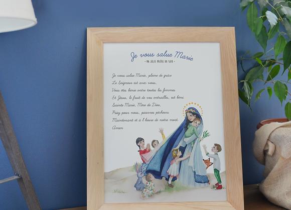 """Poster """"Je vous salue Marie"""""""