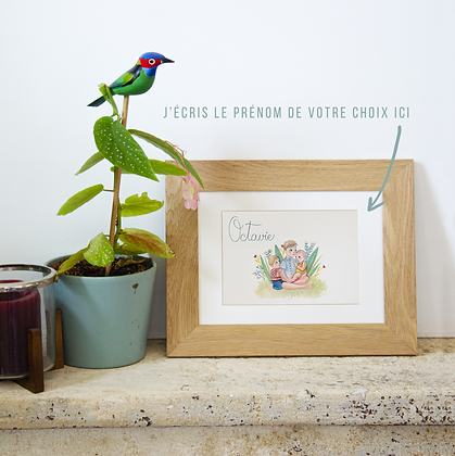 PERSONNALISABLE - Fratrie