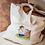 Thumbnail: Tote bag en coton Amitié Sauvage