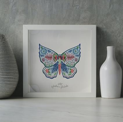 Papillon solo - Tourbillon