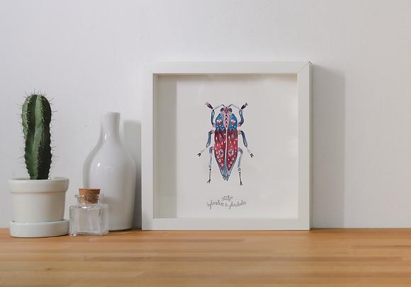 Insecte solo - bleu II