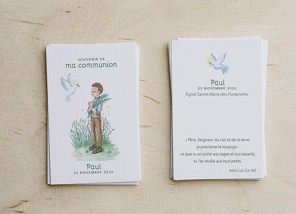 Signet de Communion II (Mise en page + fichier PDF HD)