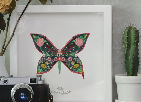 Papillon solo - Mamba Noire