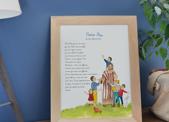 """Poster """"Notre Père"""""""