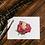 Thumbnail: Carte Remerciement Rose