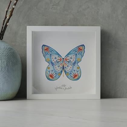 Papillon solo - Lapiz Lazulli