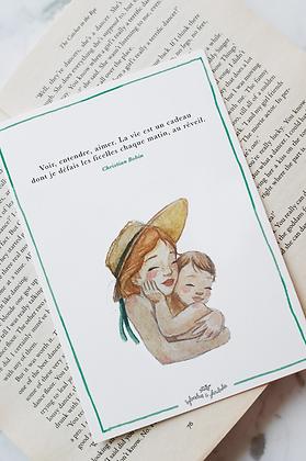 Carte d'ôde aux mamans -4