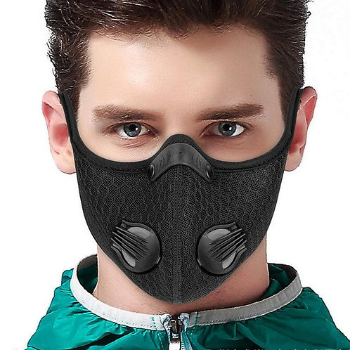 Mask Wth Activated Carbon Filter