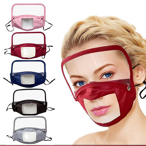 Removable see-through mask(adult)