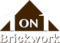 Expert Bricklayers Lismore, Ballina, Byron Bay, 1 on 1 Brickwork logo