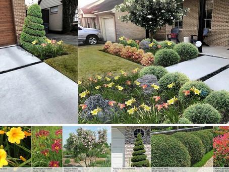Small Garden revamp 3D proposal