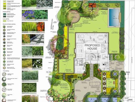 Modern Residential Landscape Development Plan
