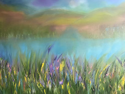 .Lilac Passion in oils