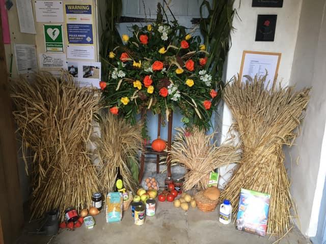 Celebrating Harvest at St.Peter's