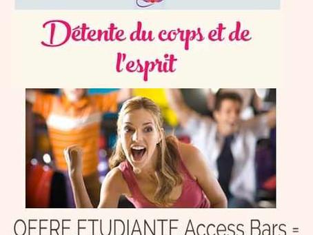 OFFRE ETUDIANTE Access Bars