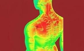 Effets du Reïki filmés par caméra infrarouge thermique