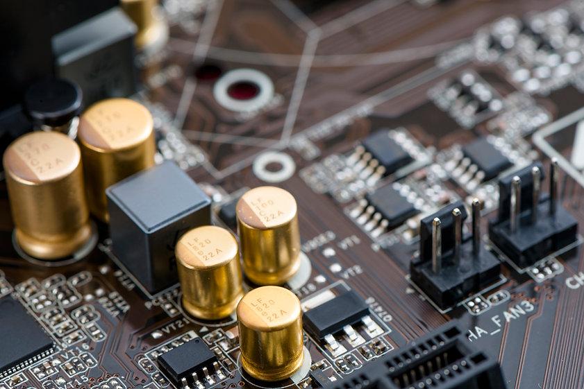 電腦的電路板