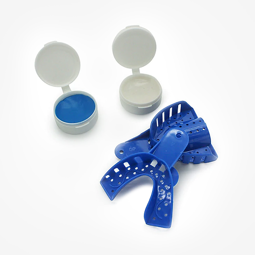 IMPRESSION KIT AND OR ONE COMPLETE SET OF DENTAL PUTTY MATERIAL