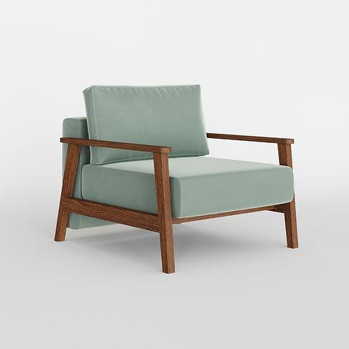 Кресло PETRA, цвет оливковый