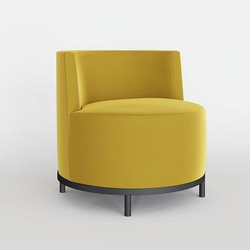 Кресло KONTA желтое
