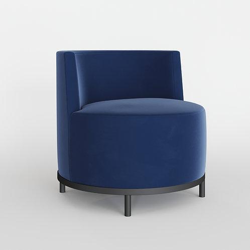 Кресло KONTA синее