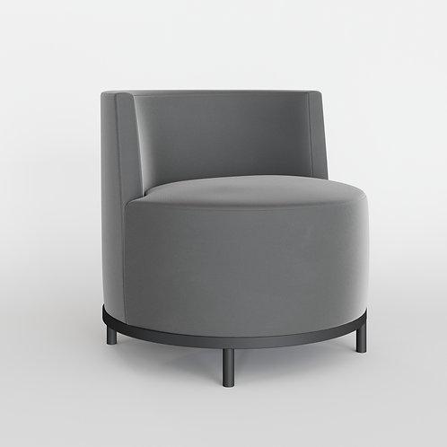 Кресло KONTA серое