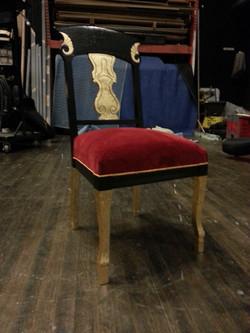 Fiddleback chair