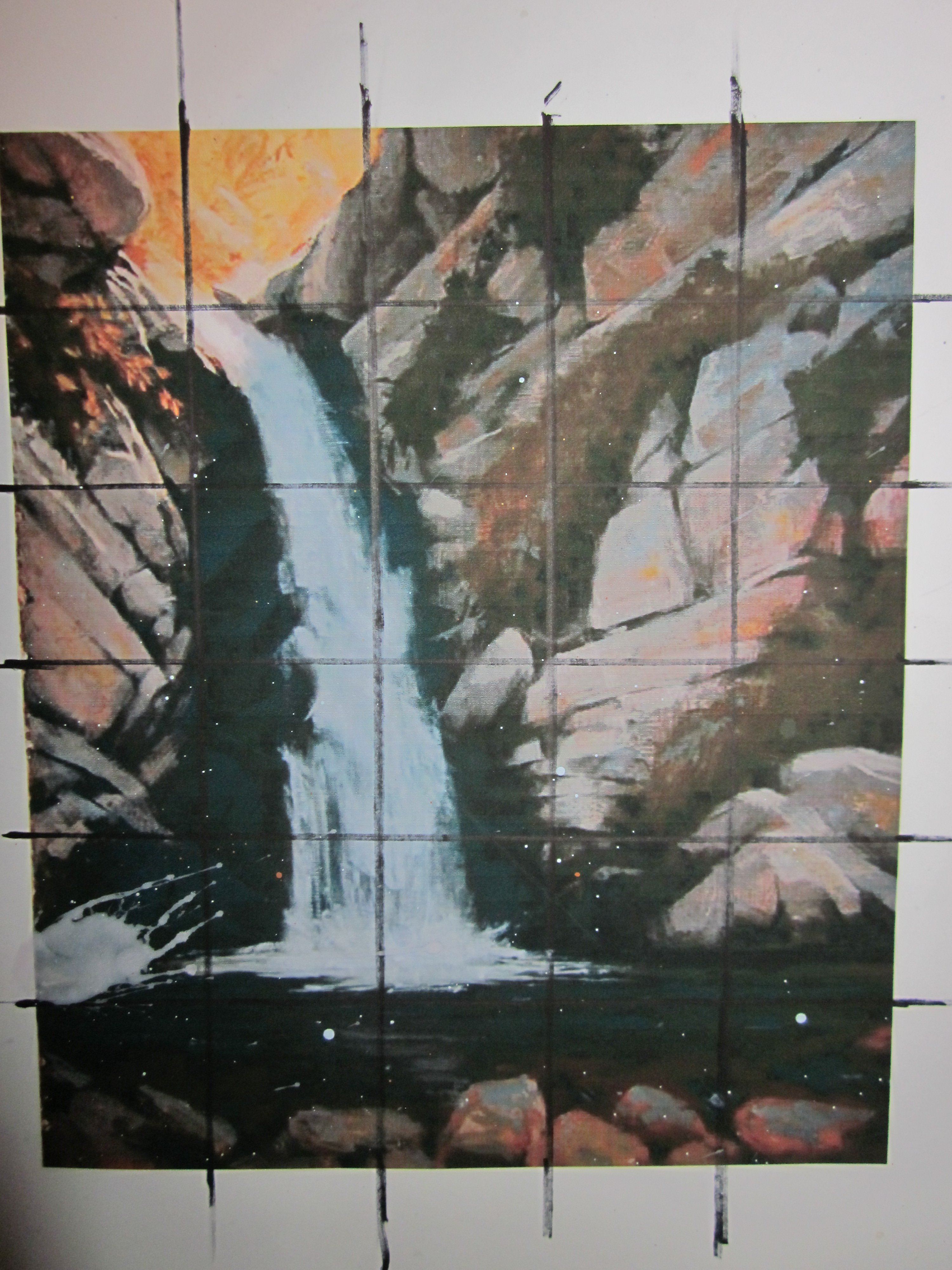Scenic Painting - Original Image