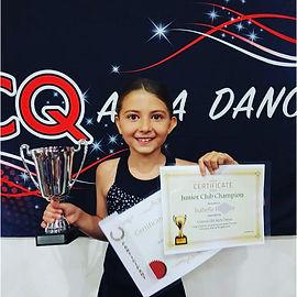 Isabelle Humble Junior Club Champion 201