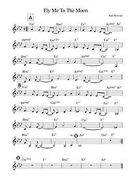 ジャズボーカル楽譜作成