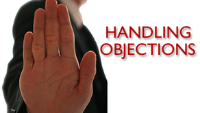Handling Objections (Overcoming Objections)