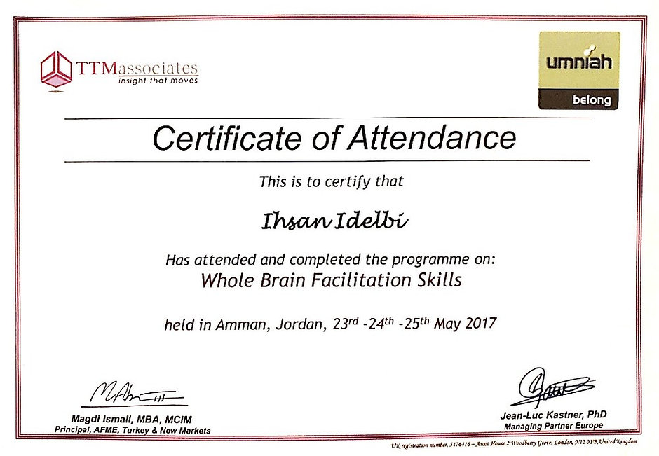 Whole Brain Facilitation Skills