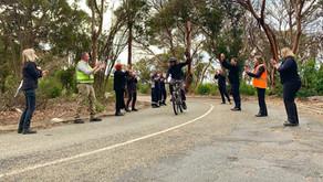 Kenna Kicks Cycle Challenge!