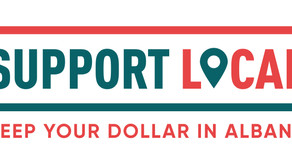 Support Local Logo available for free download