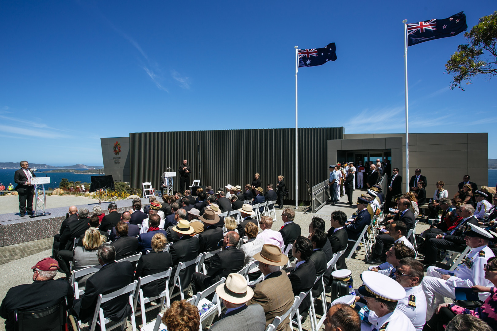 Official Opening of the National Anzac Centre