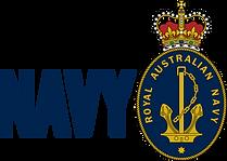 Navy Brandmark Horizontal Colour - Solid