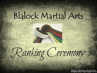 The Ranking Ceremony