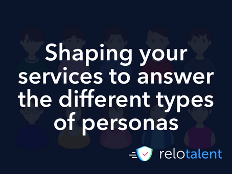 Shaping your services to answer the different types of client personas