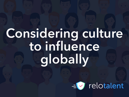 Considering culture to influence globally