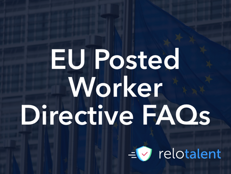 EU Posted Worker Directive -  Frequently Asked Questions