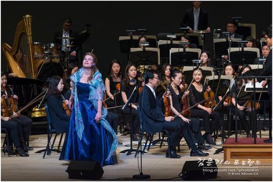 Konzert in Südkorea