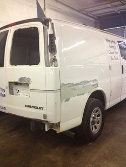 Quarter Panel Repair-2014 Express