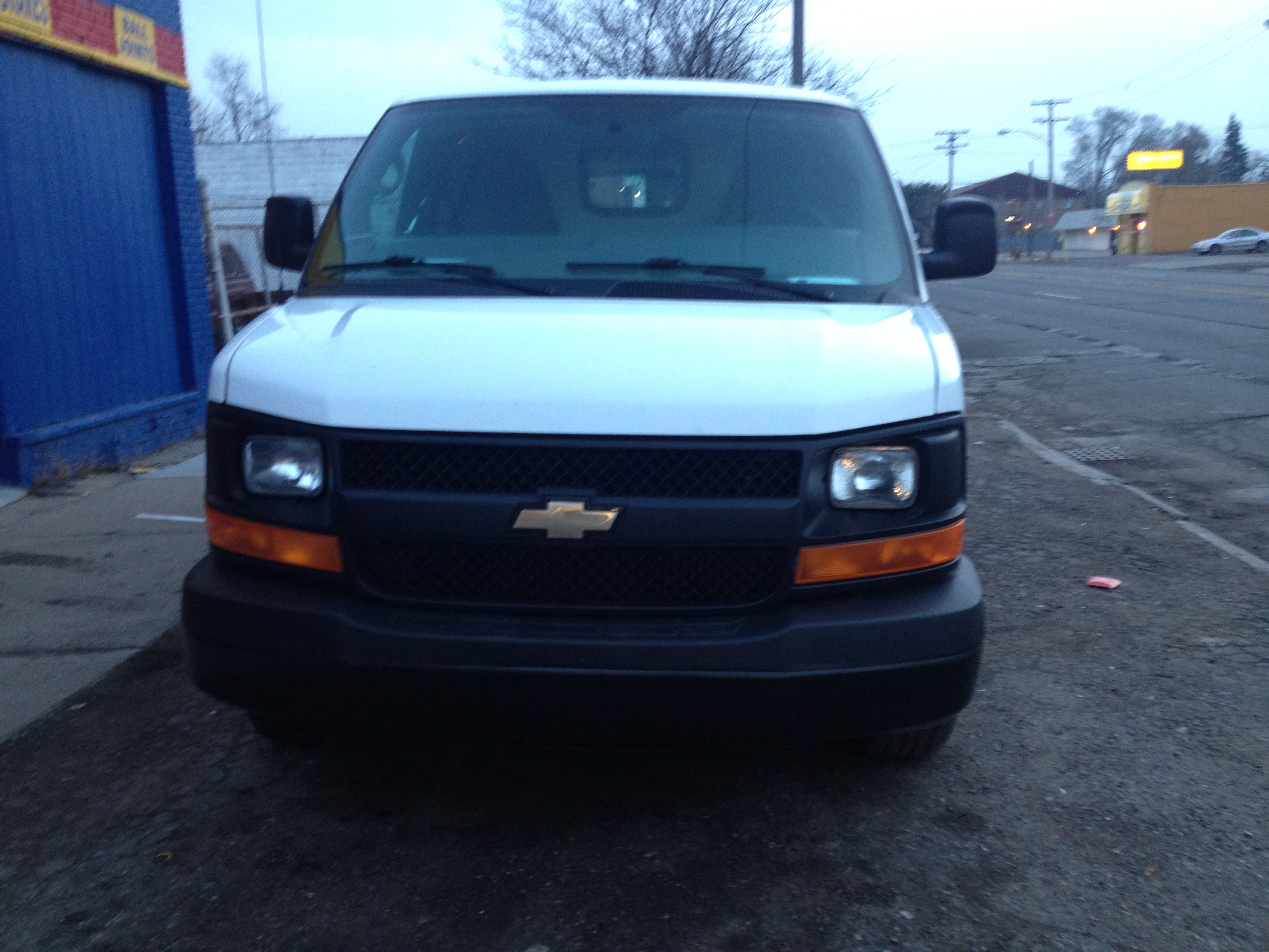 After-2014 Chev Express